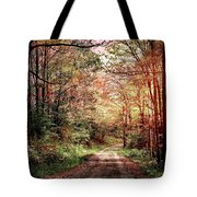 Fall In Monongalia County Tote Bag
