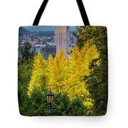 Fall In Portland Or 2 Tote Bag