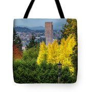 Fall In Portland Or Tote Bag
