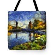 Fall In Riverfront Park Spokane Tote Bag