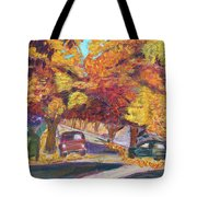 Fall In Santa Clara Tote Bag