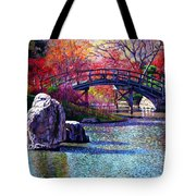 Fall In The Garden Tote Bag