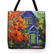 Fall In The Neighborhood Tote Bag