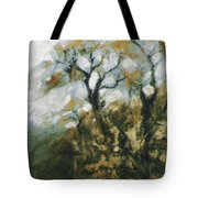 Fall In The Sumacs Tote Bag