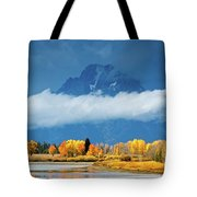 Fall At The Oxbow Tote Bag