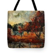 Fall In Vivy Tote Bag