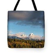 Fall In Wyoming Tote Bag