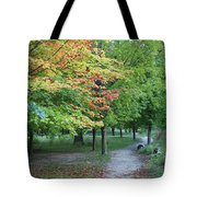 Fall Is Arriving Tote Bag