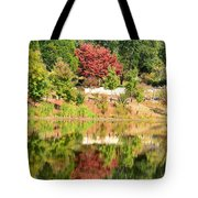 Fall Tree -loganville Georgia Tote Bag