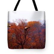 Fall Landing Tote Bag