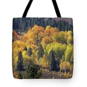 Fall Lands In Western Wyoming Tote Bag