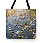 Fall Leaves Tote Bag by Michael Tesar