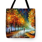 Fall Marathon Tote Bag