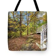 Fall Morning Tote Bag
