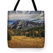 Fall Mountain Tote Bag