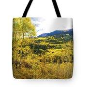 Fall Mountain Scenery Tote Bag