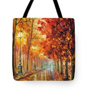 Fall Night Tote Bag