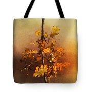 Fall Oak Leaves Tote Bag