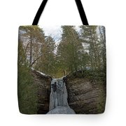 Fall Of Ice Tote Bag