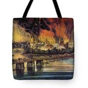 Fall Of Richmond, 1865 Tote Bag