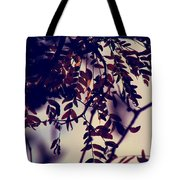 Fall Of Shades Tote Bag