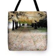 Fall On Oak Street Tote Bag