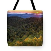 Fall On The Blue Ridge Parkway. Tote Bag by Itai Minovitz