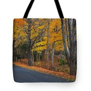 Fall On The Cape Tote Bag