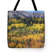 Fall On The Greys River Tote Bag