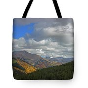 Fall On The Pass Tote Bag