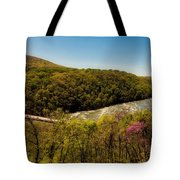 Fall On The Shenandoah River - West Virginia Tote Bag