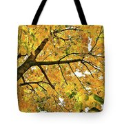 Fall On William Street Tote Bag by Al Harden
