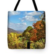 Fall Overlook Tote Bag