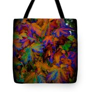 Fall Painting By Mother Nature Tote Bag