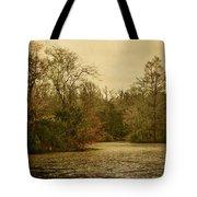Fall Pond Tote Bag