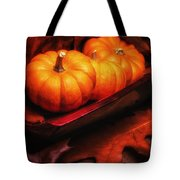 Fall Pumpkins Still Life Tote Bag