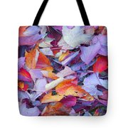 Fall Purples  Tote Bag