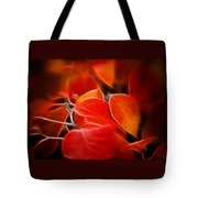 Fall Red 6675 Tote Bag