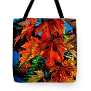 Fall Reds Tote Bag