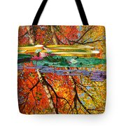 Fall Reflections 2 Tote Bag