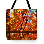 Fall Reflextion Tote Bag
