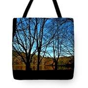 Fall Silhouette Tote Bag