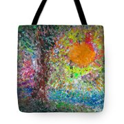 Fall Sun Tote Bag