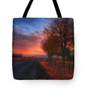 Fall Sunrise Tote Bag