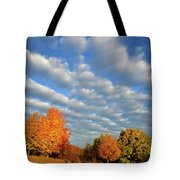 Fall Sunrise Over Hackmatack Nwr Tote Bag