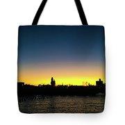 Fall Sunset In Nj Tote Bag