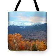 Fall Sunset On Adams And Madison Tote Bag