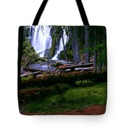 Fall Through Tote Bag