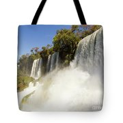 Fall To The Rainbow Tote Bag