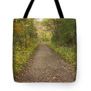 Fall Trail Scene 48 Tote Bag